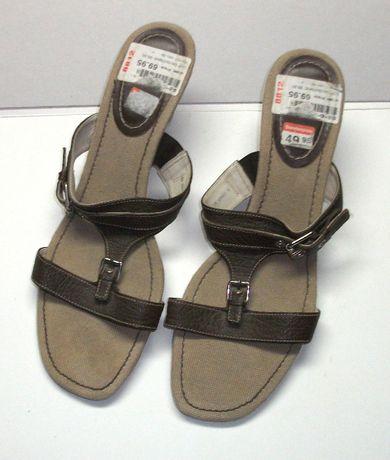 Vand sandale de dama maro, Lloyd, marimea 41