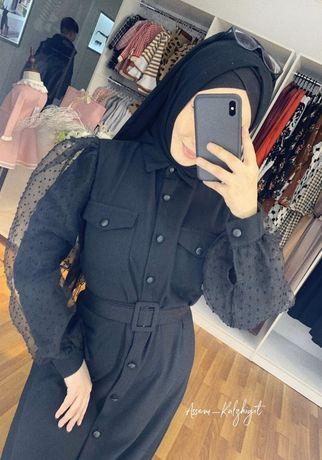 Закрытое нарядное платье - Хиджаб
