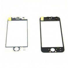 Geam sticla ecran la display iPhone 8 plus negru