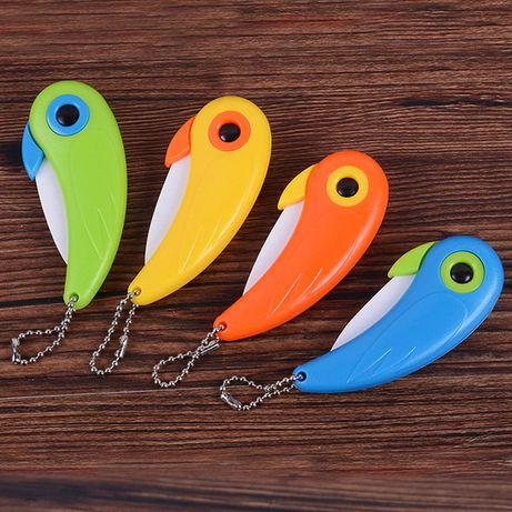 Сгъваем джобен нож птица , папагал , канарче