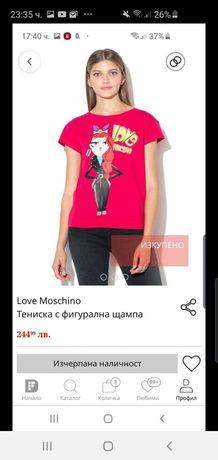 Тениска Love Moschino