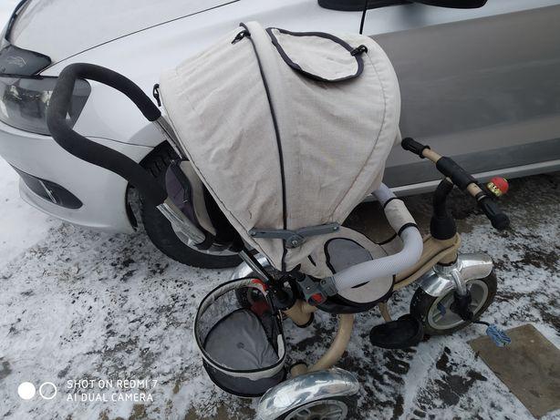 Продается велосипед виде коляски хорошем состоянии