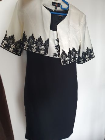 Deux pieces, rochie de ocazie cu sacou