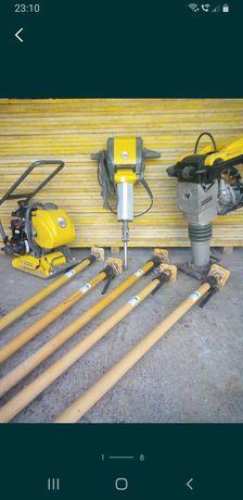 Popi metalici, mai compactor, picamer, schela metalica, panouri doka