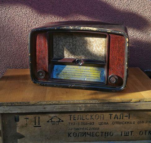Раритетный ламповый приемник Балтика-52