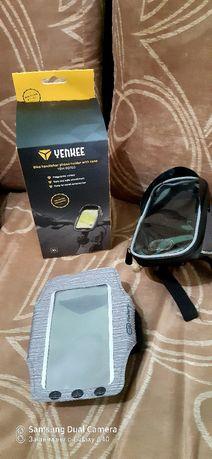 Спортни кейсове за телефон - аксесоари за колело + мешка  NIKE
