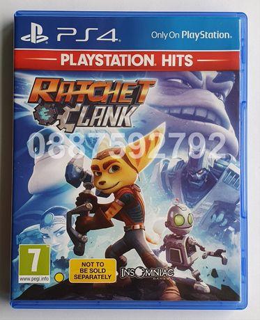 Перфектен диск с играта Ratchet & Clank PS4 Playstation 4 Плейстейшън