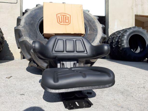 Scaun tractor NOU cu amortizor triplu reglaj prindere universala tva