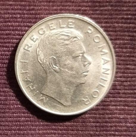 Monedă 100 lei, an 1943/1944