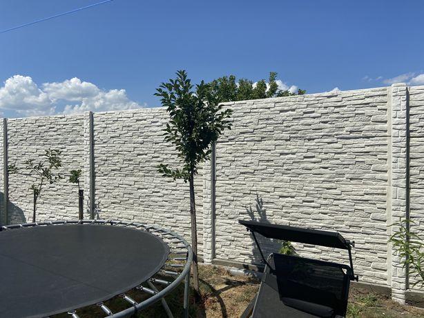 Gard modular din beton