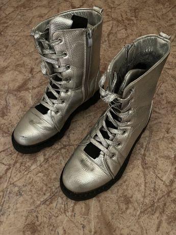 Подростковые зимние ботинки для девочки 38 р