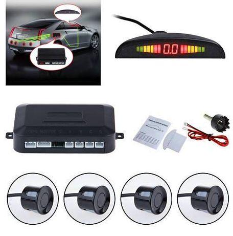 Гаранция! Парктроници с монитор, ЛСД дисплей и камера за задно виждане