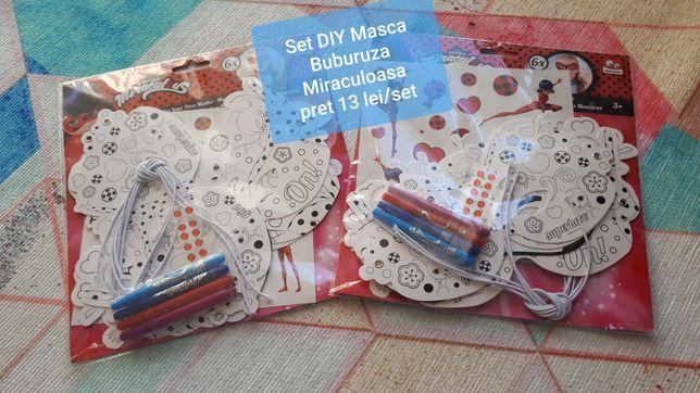 Seturi copii DIY - Buburuza miraculoasa, Libelula, margele spuma