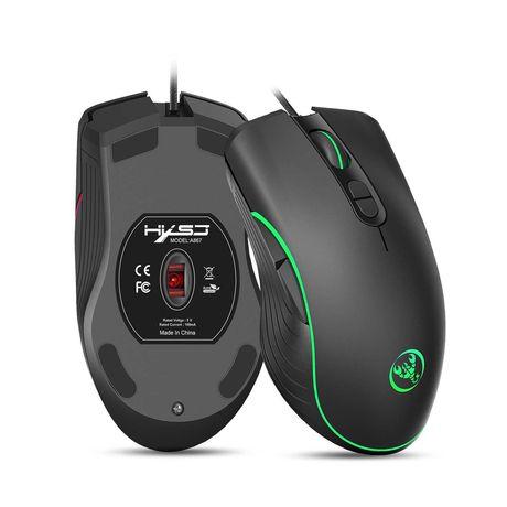 USB геймърска мишка 7 активни бутона, 4 скорости DPI mode Нови