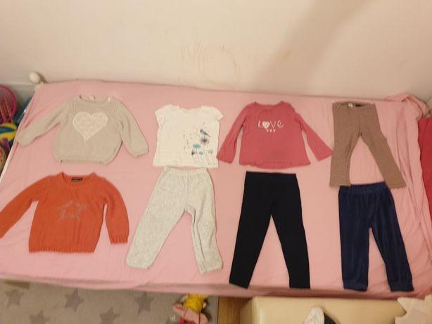Bluze si pantaloni copii 2-3 ani 86/92 cm  - livrare curier gratuit