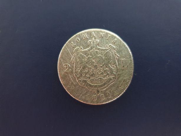 Monede argint din 1881 și 1914