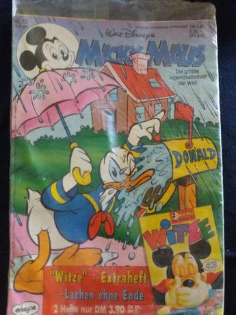 Revistă Micky Maus original Walt Disneys din 10.12.1992,nouă