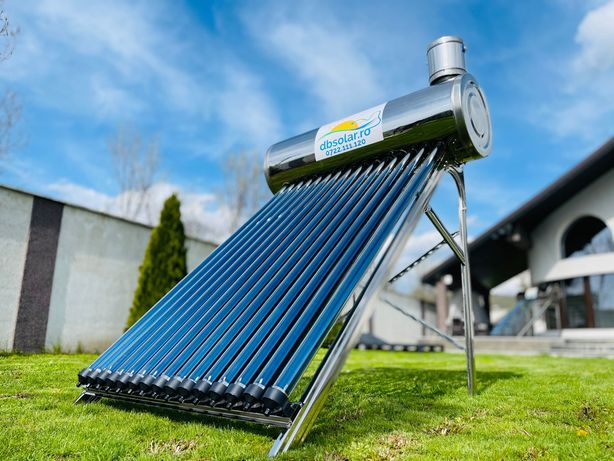 Panou SOLAR INOX NEpresurizat 150 195 Litri Apa Calda Solare NOI Termi