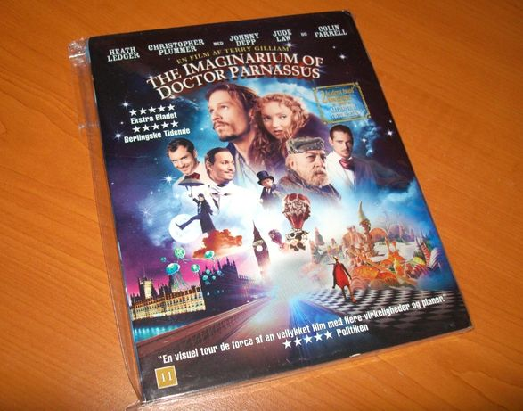 Film Blu-ray The Imaginarium of Doctor Parnassus (cu slipcover)