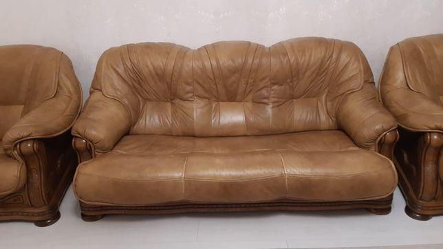 Мягкая мебель из натуральной кожи белорусского производство