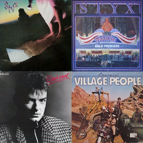 Виниловая пластинка : Police, Elvis Presley,Dalida