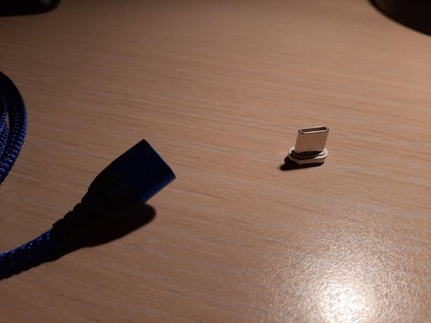 Cablu incarcator telefon cu cap detasabil magnetict Tip C