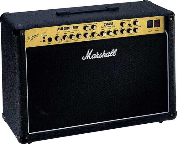 Ламповый гитарный комбик Marshall JCM 2000 TSL602