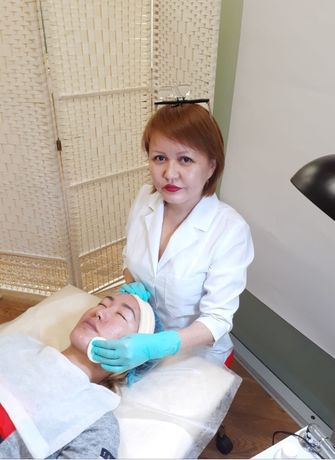 Механическая чистка лица.Жарокова/ Бухар Жырау