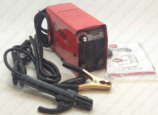 Invertor,aparat de sudura MMA EDON TB-300C cu afisaj led