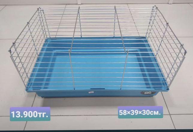 Клетка для морских свинок и кроликов.