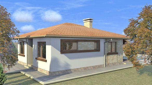 Продава се парцел със стара къща и ПРОЕКТ за строеж в с. Могила..