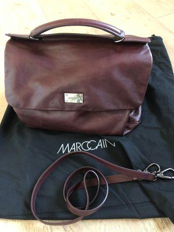 Чанта от естествена кожа Marc Cain