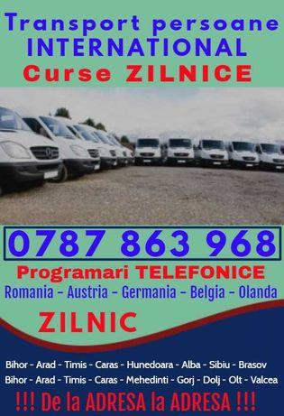 ZILNIC transport persoane ot o Romania Austria Germania plecari adresa