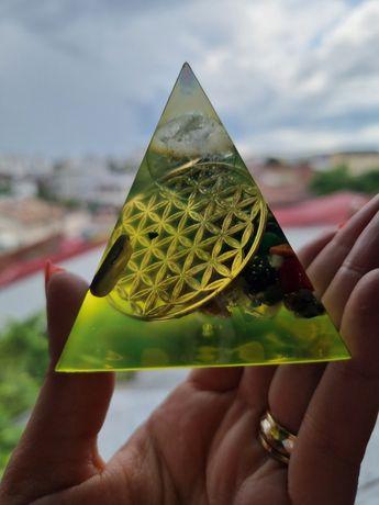 Piramida orgonica deblocarea celor 7 chakre