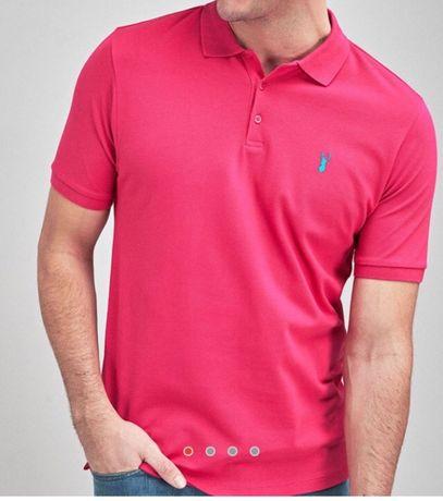 NEXT - два вида мъжки тениски с яка- XL