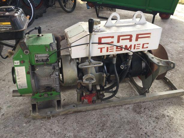 Troliu TESMEC ITALY profesional hidraulic cu motor Lombardini de 350cm