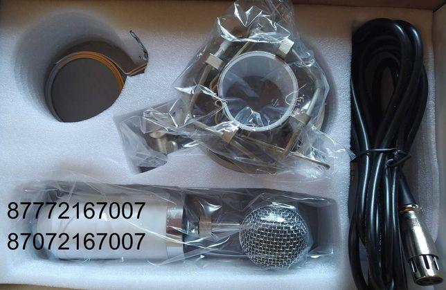 Конденсаторный микрофон (комплект) для студийной работы.