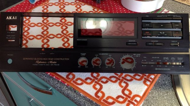 Панель от кассетной деки Akai GX-75 Mk 2