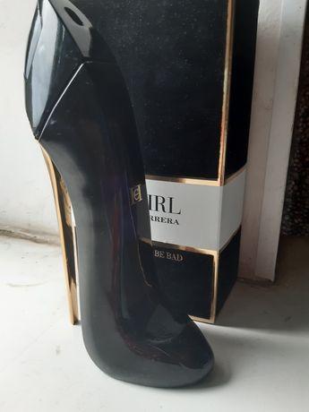 Духи туфельки Carolina Herrera