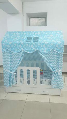 Детская мебель на заказ домик кровать детская кровать