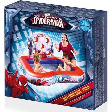 Piscina gonflabila interactiva pentru copii - 170 L