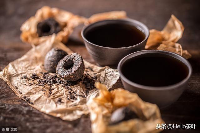 Крепкий Чай Красный халат Пуэр в миниточах Тигуанинь привезем