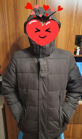 Продам зимний пуховик мужской