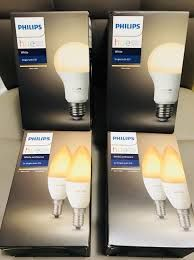 Becuri inteligente LED Smart Philips Hue E14 E27 GU10 6W 9W White/RGB