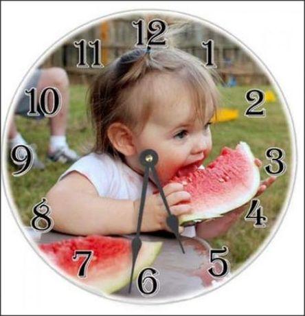 Ceas de perete personalizat / ceas de birou