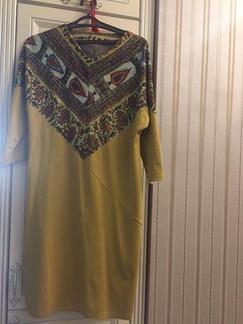 Платье  трикотаж Россия