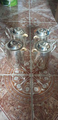 Ceainic argintat noi de 1 L
