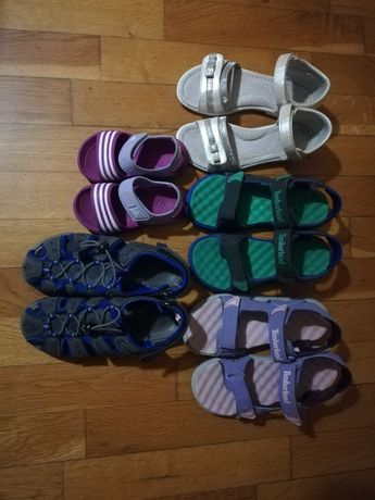 Употребявани детски сандали Timberlend, Clibee.