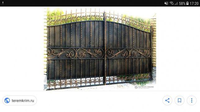 Решетки на окна, Ограждения, Ворота, навесы и т.д