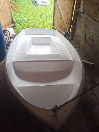 Barca din fibra cu motor electric